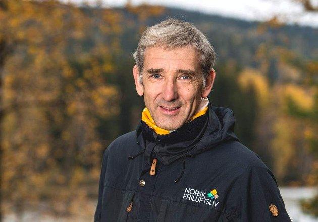 Lasse Heimdal, generalsekretær i Norsk Friluftsliv