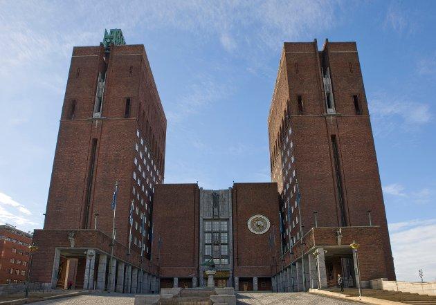 Lukket dør: Oslo har sagt nei til sammenslåing med Akershus.