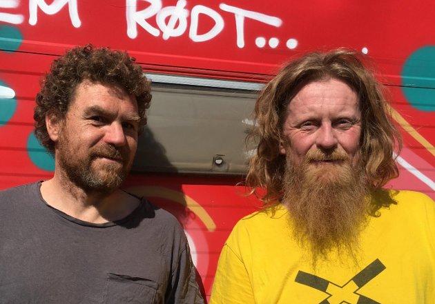 Roald Arentz og Hallgeir Opdal i Rødt