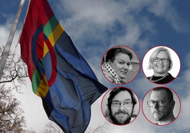 Trøndelag som samisk fylke er nærmest usynliggjort på strukturelt nivå, skriver de fire innleggsforfatterne fra Rødt.