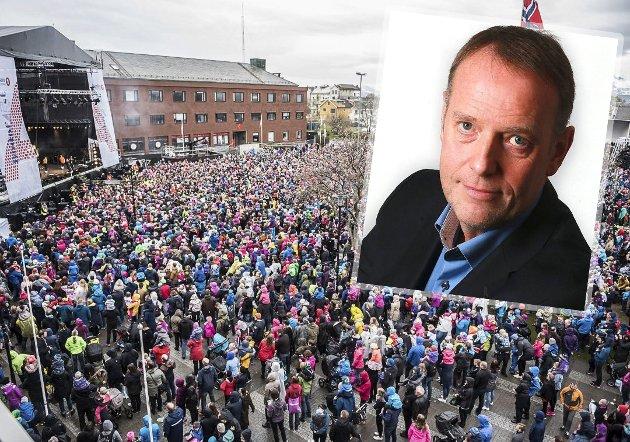 Klart tale: Sjefredaktør Jan-Eirik Hanssen tror Bodø 2024 vil løfte byen og er akkurat det flere næringer trenger etter koronakrisen. Arkivfoto