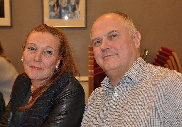 Kari Lene Olsen og Kjell-Valter Sivertsen i Nordkapp Arbeiderparti.