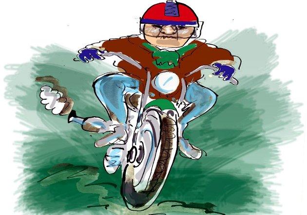 En leser klager på bråkete motorsykler.