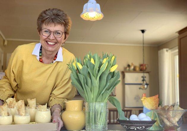 Egg og eggedosis: – Maten skal være trygg å spise, sier Kathrine Kleveland. Foto: Privat