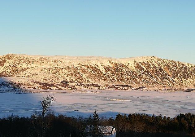 Helgfjellet med Finnkjerka og Vetten, et av områdene som er vurdert å bygge vindkraftanlegg på.