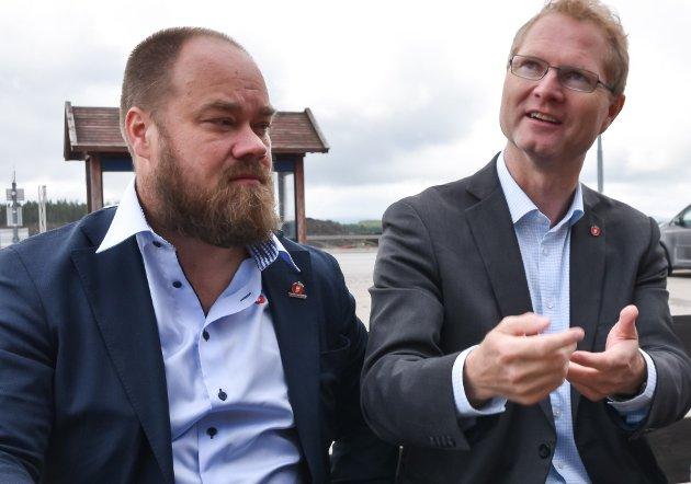 Truls Gihlemoen, Tor André Johnsen og Helle Jordbræk, Frp