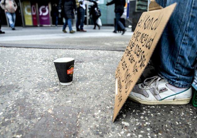 Fattigdom: Ingen av oss vil være fattige. Ingen vil ikke bare overleve, vi vil leve! Og dette betyr at inkluderingen, eller de samme muligheter for alle, har en spesiell rolle om hvordan fattigdom utvikles.IllustrasjonsFoto:  Ntb/scanpix
