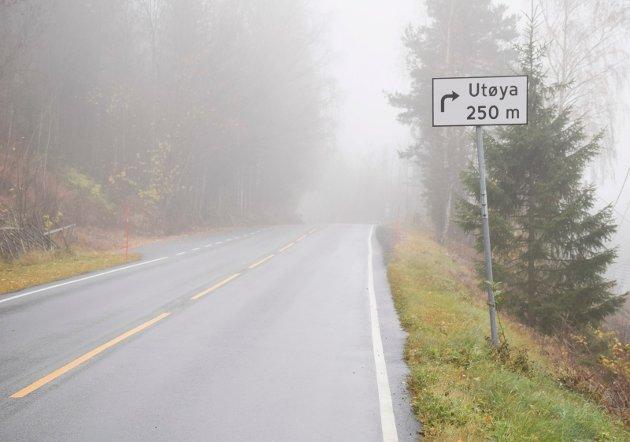 Når E16 benytter Utstranda som omkjøringsvei får ikke våre barn lov til å benytte veien, sier Ole Morten Jensen