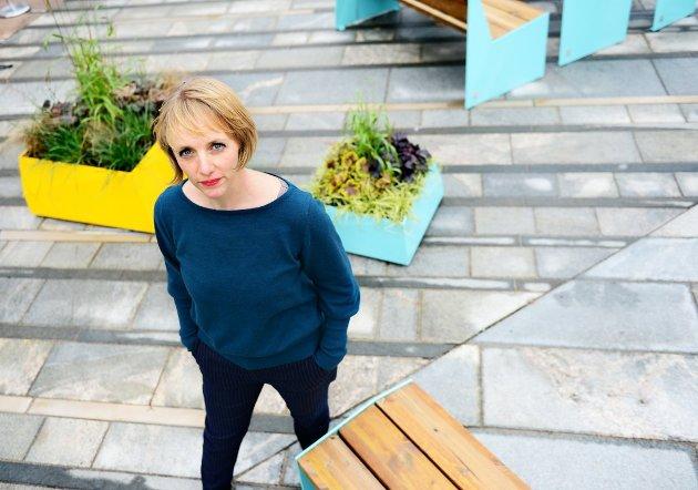 Stine-Marie Schmedling er spaltist i Tønsbergs Blad