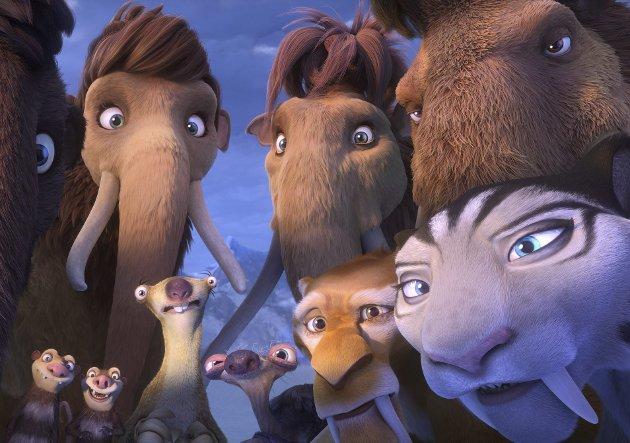 Tilbake: Dovendyret Sid og resten av gjengen i Istid er tilbake i filmformatet for femte gang. Foto: Filmweb.no