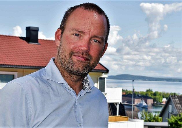 Niklas Cederby, gruppeleder i Horten Høyre
