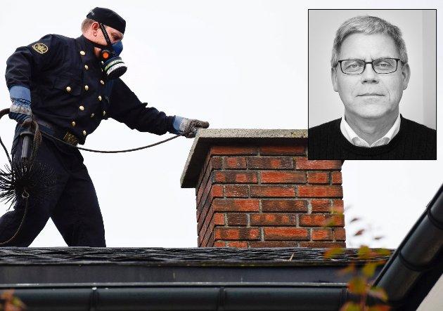 MISNØYE: – Enten må ordningen på plass, slik at nødvendig feiing blir gjennomført, eller så må hytteeierne slippe å betale, skriver Øyvind Lien i denne kommentaren.