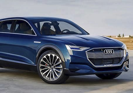 FREMST I VERDEN: Audi kommer Audi med sin Audi e-tron quattro først i Norge.
