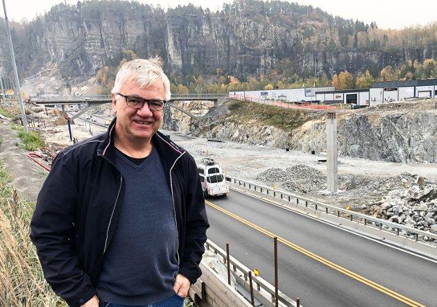 Ordfører i Bamble, Hallgeir Kjeldal (Ap).