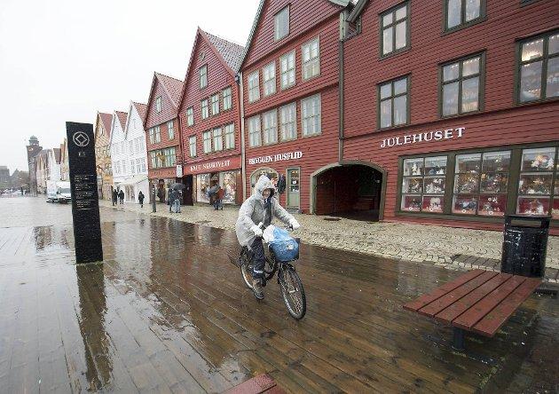 Summeren har ikke tro på at mange vil sykle i regn.