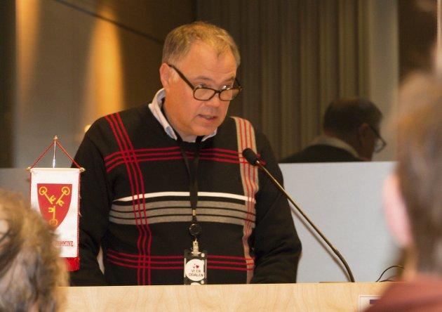 LANDET: Sør-Odals ordfører, Knut Hvithammer (Ap), har landet på at Kongsvingerregionen bør bli en del av Innlandet.
