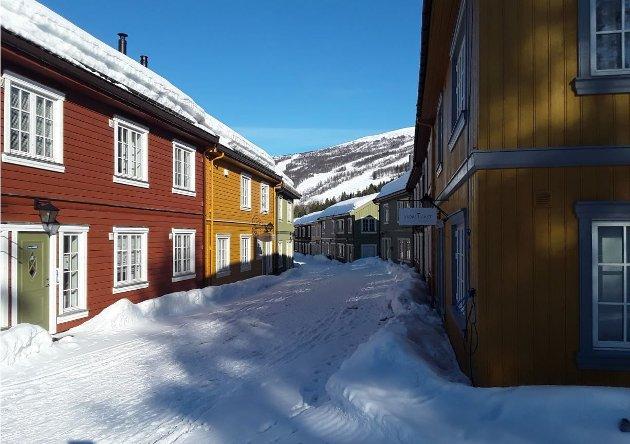 FORTETTING: Vetlegrenda på Bjorli - et godt eksempel på fortettet hytteutbygging, skriver artikkelforfatteren