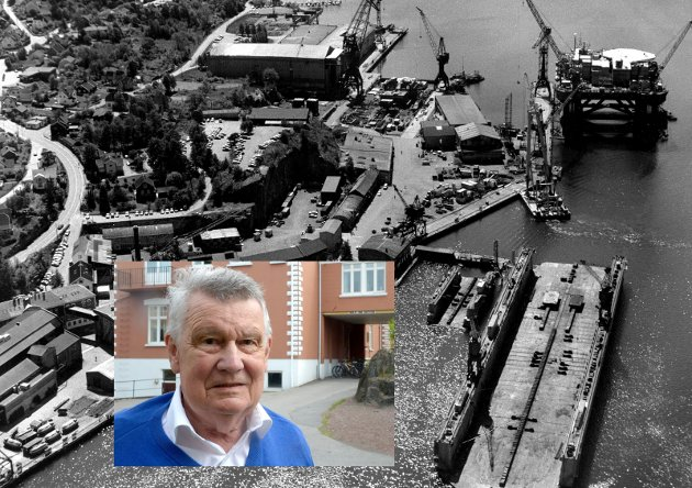 Ole Johs. Brunæs var siste adm.direktør og forteller om  tiden ved Framnæs Mek. Værksted som ble lagt ned for 30 år siden.