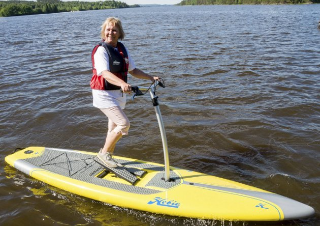VELKOMMEN: Ordfører Kjersti Nythe Nilsen trår vannet, men Marker ønskes inn i Indre Østfold kommune.