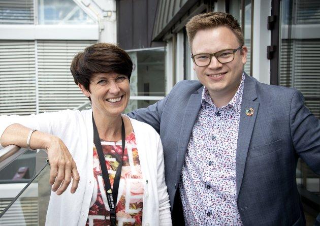 DØDT LØP: Kan det nærmest utrolige skje - at Senterpartiet blir større enn Arbeiderpartiet, og at Sps Aud Hove blir ny fylkesordfører i Innlandet i stedet for Aps Even Aleksander Hagen?