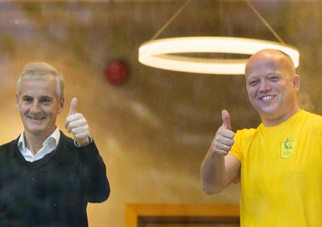 NY REGJERING: Velgerne i Gudbrandsdalen har satt sin lit til at disse to partiene kan skape forandring.