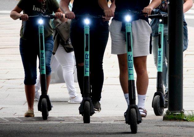 TALLENES TALE: – Bare i mai havnet 205 personer på skadelegevakten etter ulykker med elsparkesykler. Dette er mer enn en dobling fra samme måned i fjor, skriver Henrik Pettersen Sunde, Ung i Trafikken