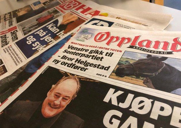GODT LEST: Unge som eldre har strømmet til Oppland Arbeiderblad det siste halvåret. ,men utviklingen gjør at det blir stadig tøffere å gi ut papiravisen.