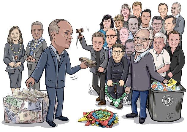 Vestfold er godt representert blant dem som falt for regjeringas pisk- og gulrotmetode