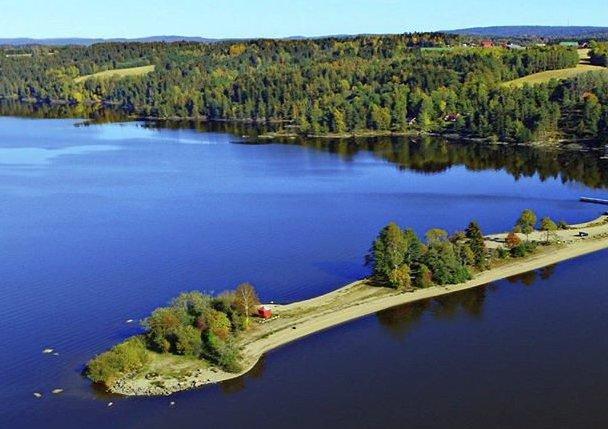 DRIKKEVANN: Her fra Sandstangen får Eidsberg og Trøgstad noe av det beste vannet i landet.