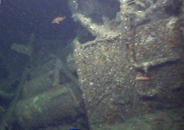 – Hvorfor lar vi ubåtvraket bli liggende med visshet om at kvikksølvet vil gi oss en ubehagelig påminnelse om Hitler? FOTO: GEOCONSULT