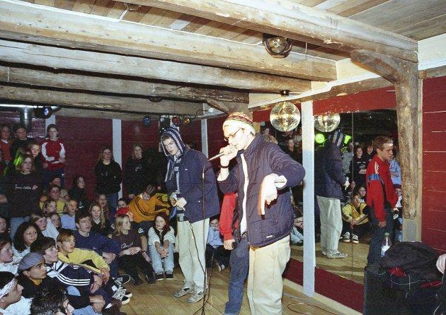 Ungdomskulturhuset HAFFEN - 1998- første driftsår. Knut Hjermann var første leiar.