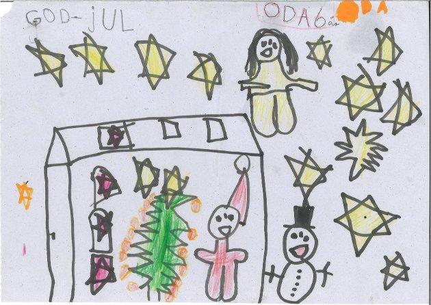 Oda (6) år