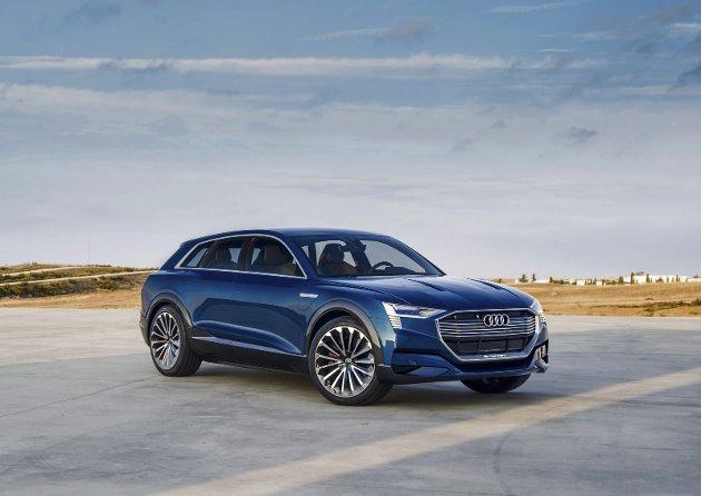 KAN BESTILLES: Elektriske Audi e-Tron Quattro
