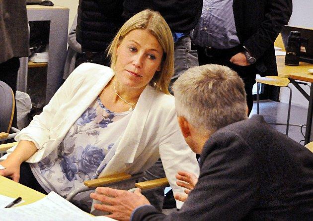 Trine Sevaldsen er fylkesleder i Norsk sykepleierforbund.