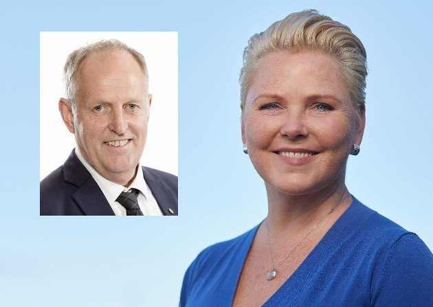 Olav Skinnes og Anne Beathe Kristiansen Tvinnereim.