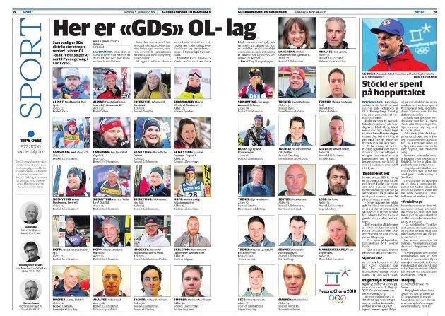 VINTERDESTINASJON: Mange aktive og støttespillere i Norges OL-tropp har tilknytning til regionen, en av verdens fremste vinterdestinasjoner, skriver Kristian Skullerud.