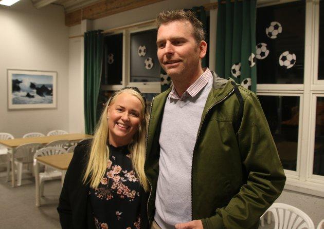 Therese Skjennum og Ole Berntsen.