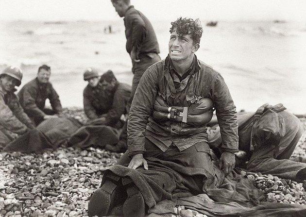 Amerikanske soldater på D-dagen
