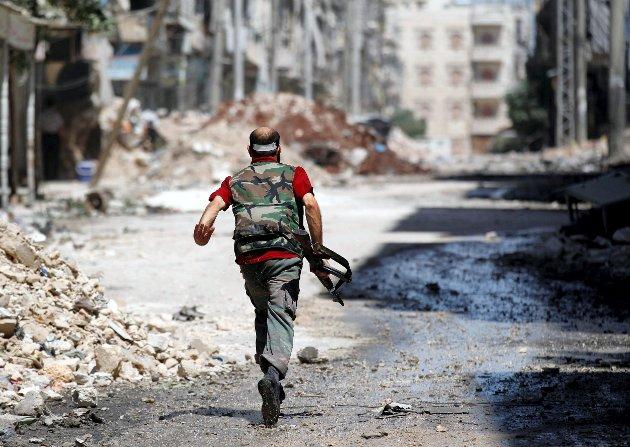 Arkivfoto fra Syria