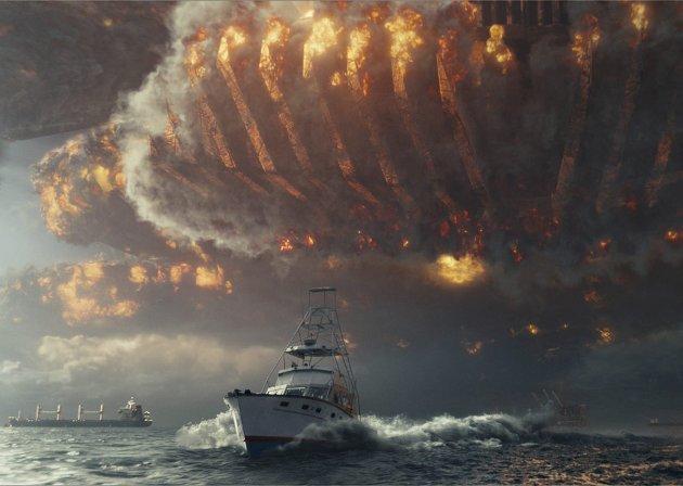 Hovedrollen: Effektene har hovedrollen i «Independence Day: Resurgence».Foto: filmweb.no