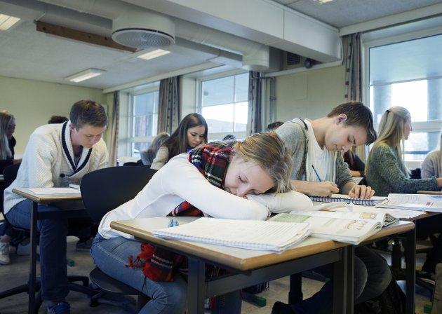 VIDEREGÅENDE: For noen byr livet på utfordringer som gjør det vanskelig å konsentrere seg om skolearbeid.