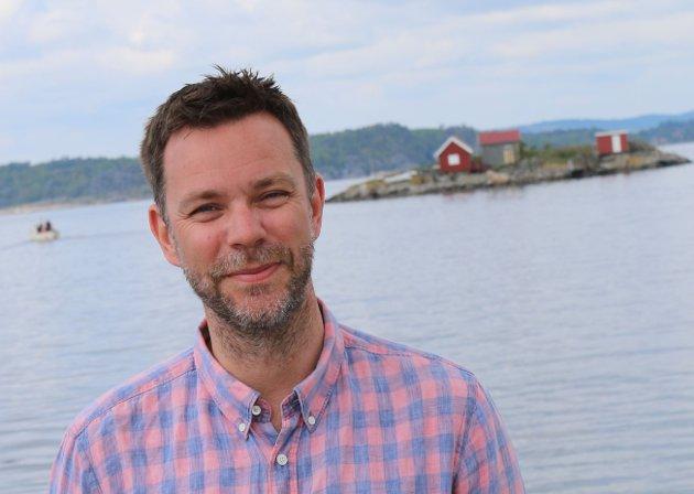 Truls Vasvik, leder Vestfold og Telemark Arbeiderparti