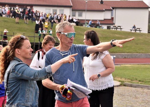 RIKTIG VEI: Kristen Aaby er veldig godt fornøyd med utviklingen av Prestfoss-stafetten.
