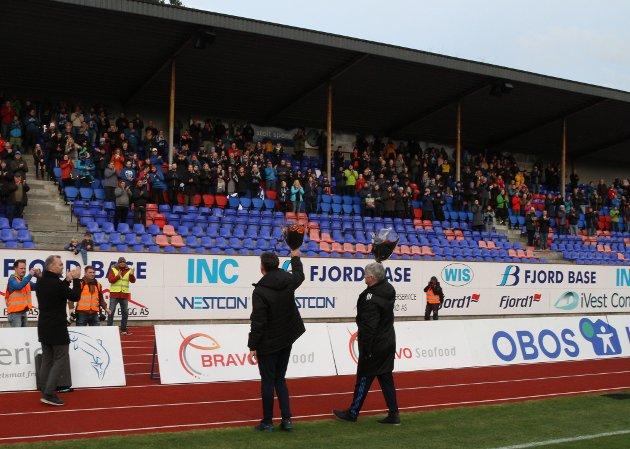 Florø-Mjøndalen 0-2. Siste Obos-kamp på Florø Stadion 12.11.18