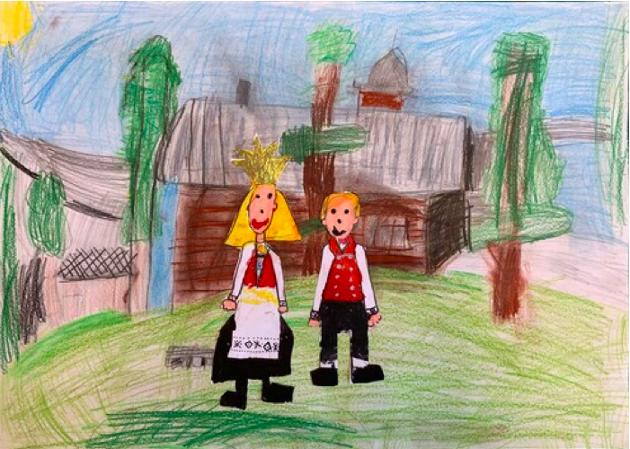 Av Ingrid Eitrheim Nondal i 2.klasse ved Skare skole.