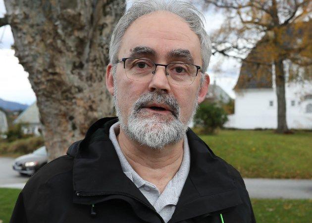 Geir Oldeide, 1. kandidat på lista til Kinn Rødt.