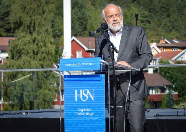 Rektor HSN, Petter Aasen