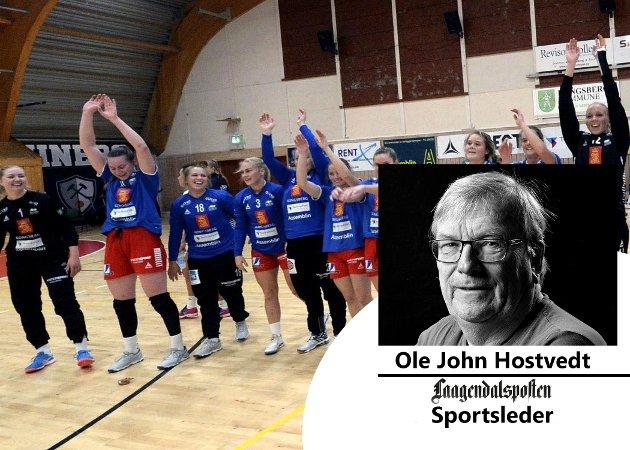 Sportsleder i Ole John Hostvedt skriver om håndballeventyret i Skrim håndball elite, som nå er slutt.