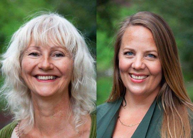 Lund og Antun er fylkestingsrepresentanter for MDG i Viken