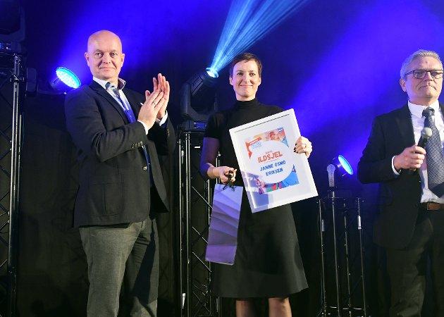 HEDRET: Janne Osmo Eriksen fikk prisen som årets ildsjel.
